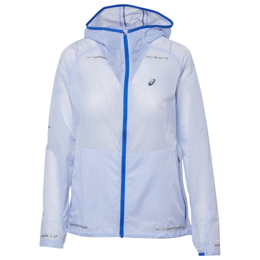 アシックス ASICS レディース フィットネス・トレーニング ジャケット アウター【lite show jacket】Illusion Blue