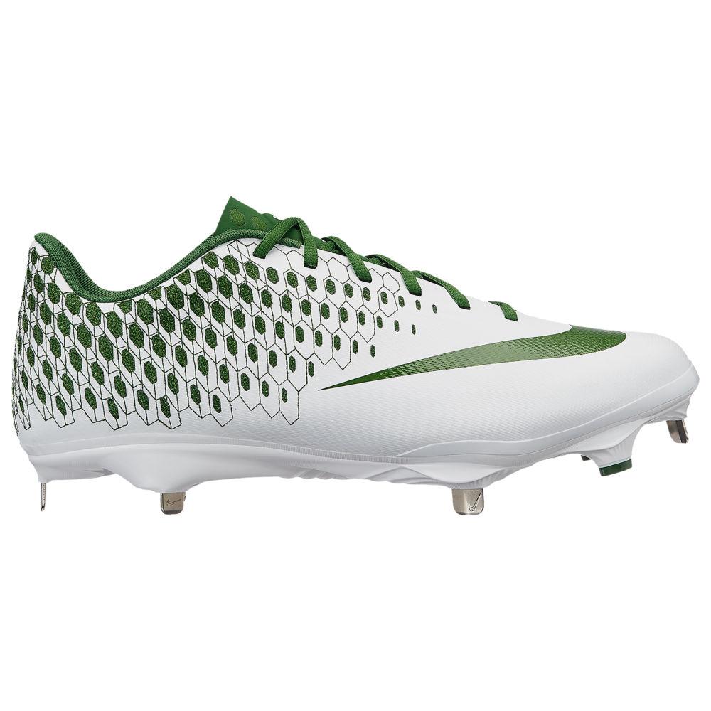 ナイキ Nike メンズ 野球 シューズ・靴【Lunar Vapor Ultrafly Elite 2】White/Forest Green
