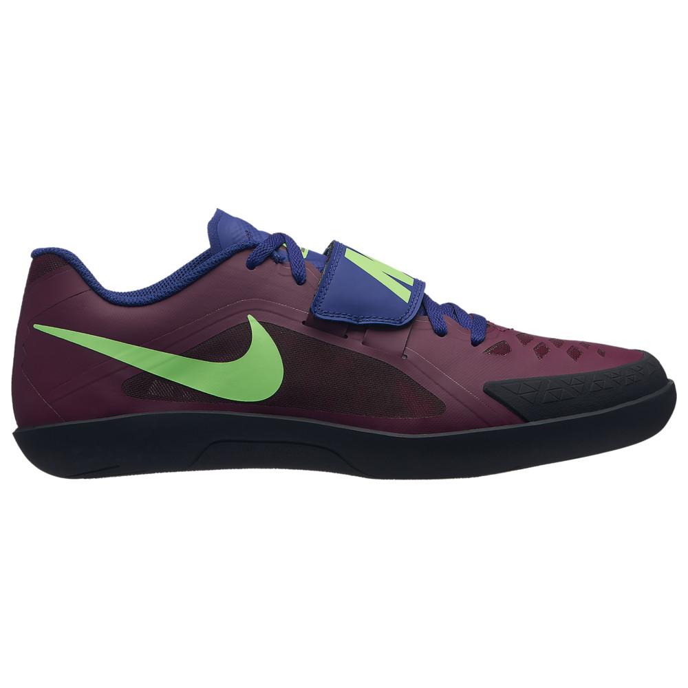 ナイキ Nike メンズ 陸上 シューズ・靴【zoom rival sd 2】Bordeaux/Lime Blast/Regency Purple