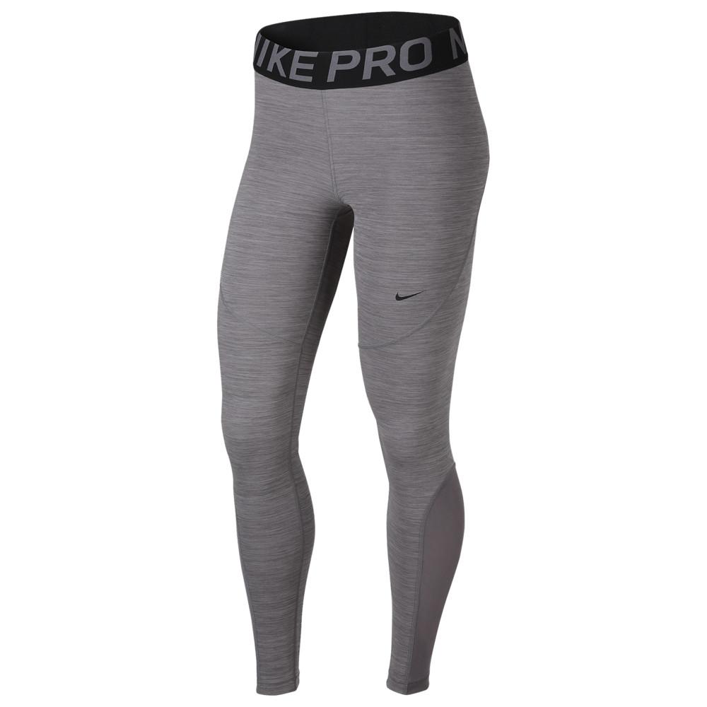 ナイキ Nike レディース フィットネス・トレーニング スパッツ・レギンス ボトムス・パンツ【pro tights】Gunsmoke