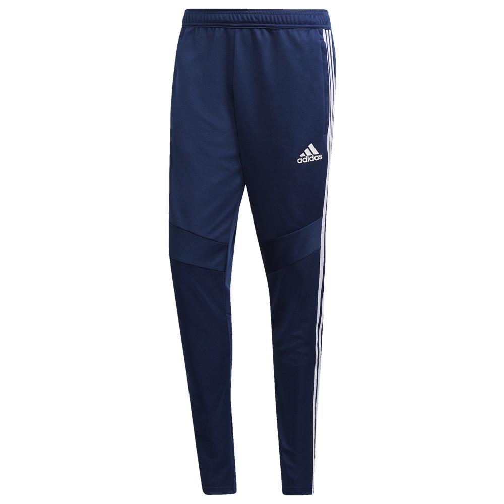 アディダス adidas メンズ スウェット・ジャージ ボトムス・パンツ【tiro 19 pants】Dark Blue/White