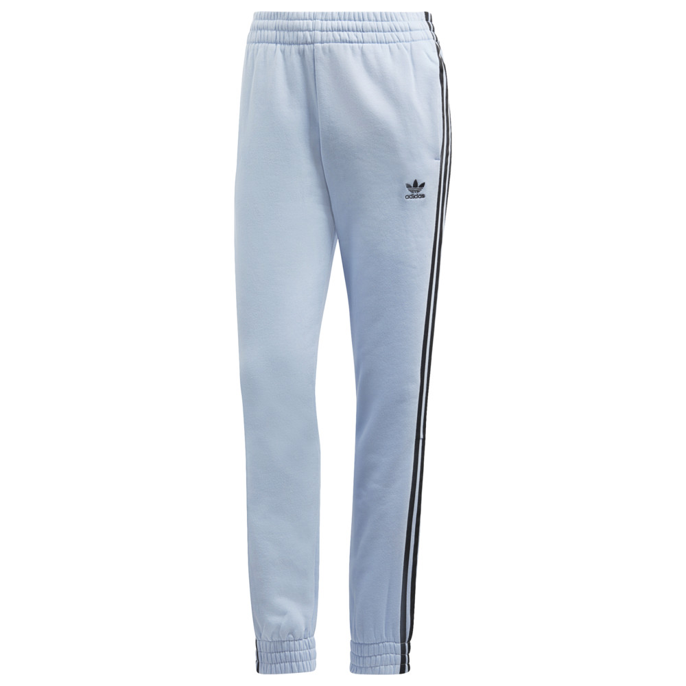 アディダス adidas Originals レディース ボトムス・パンツ 【strict/clash snap cuffed pants】Periwinkle/Black