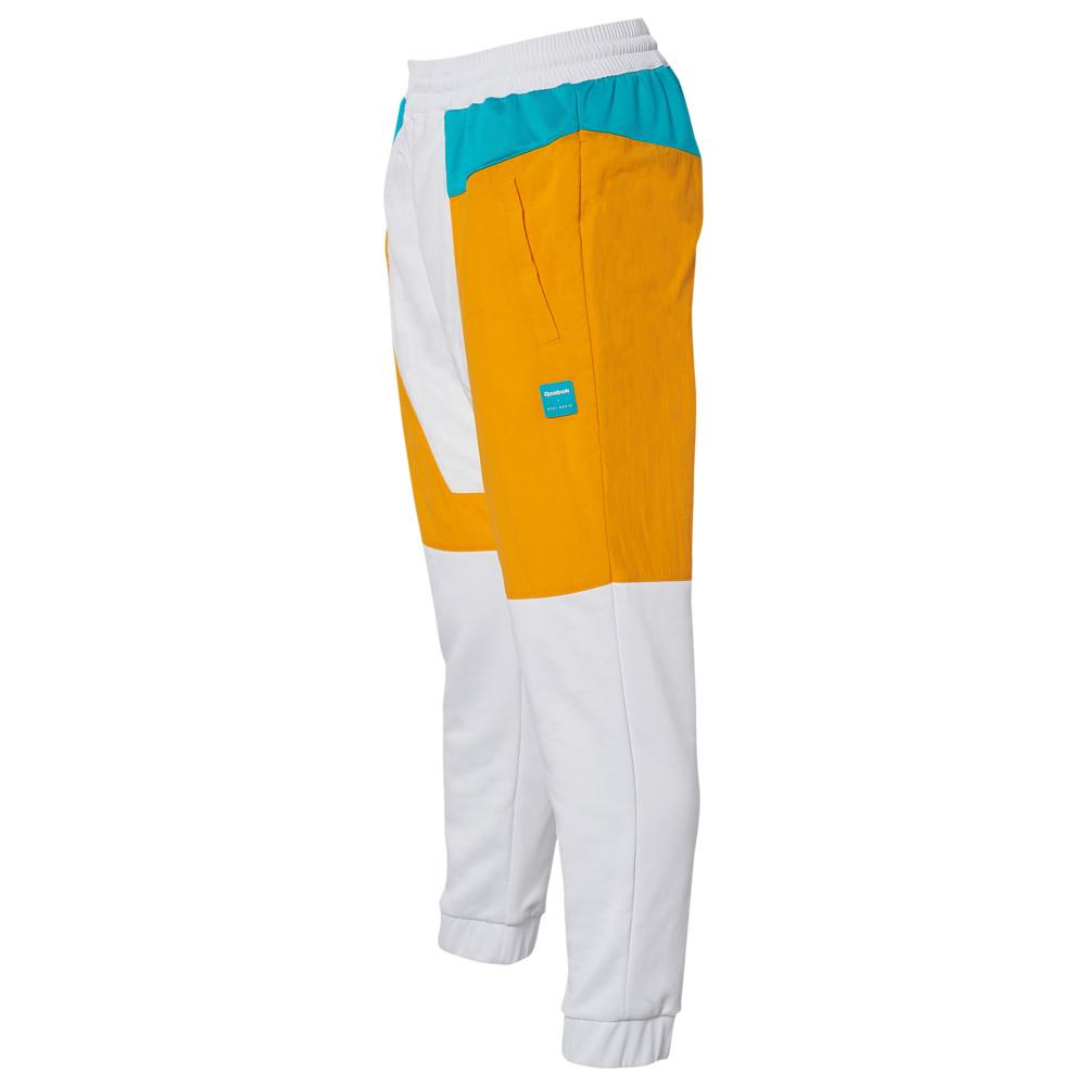 リーボック Reebok レディース スウェット・ジャージ ボトムス・パンツ【gigi colorblocked track pants】White