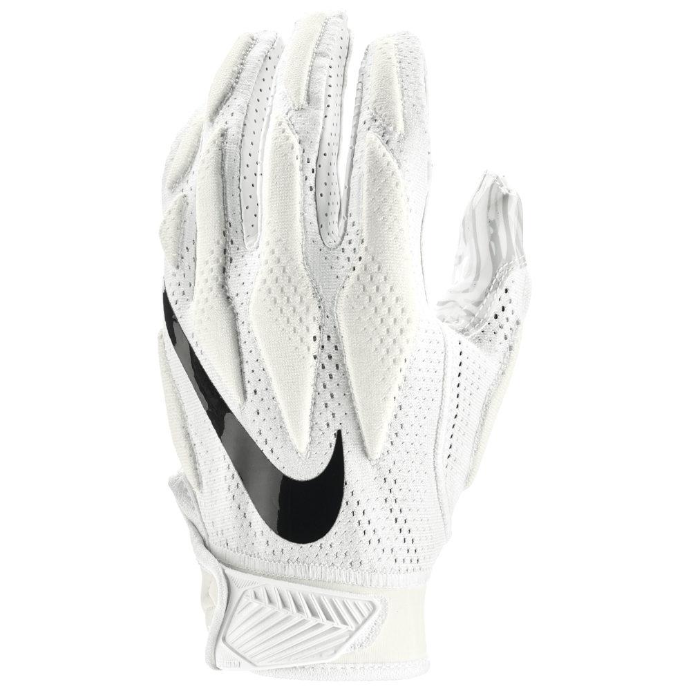 ナイキ Nike メンズ アメリカンフットボール グローブ【Superbad 4.5 Football Gloves】White/White/Black