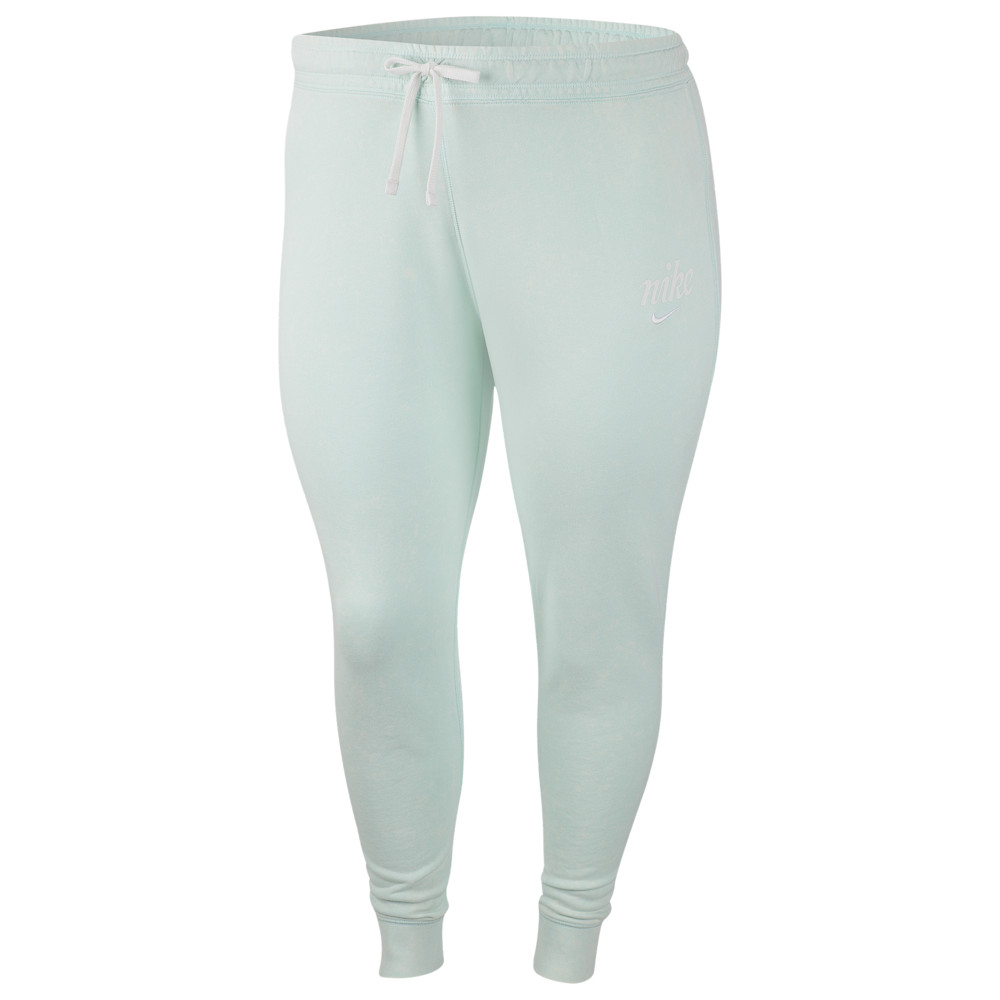 ナイキ Nike レディース ジョガーパンツ 大きいサイズ ボトムス・パンツ【plus size wash joggers】Green Plus Size