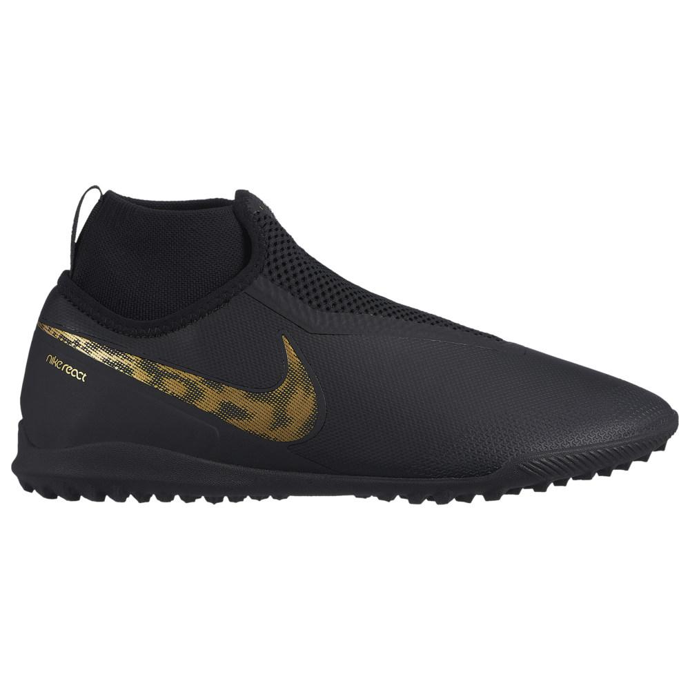 ナイキ Nike メンズ サッカー シューズ・靴【Phantom VisionX Pro DF TF】Black/Metallic Gold Black Lux