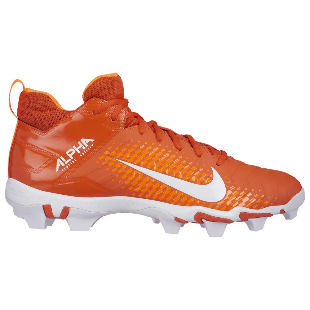 ナイキ Nike メンズ アメリカンフットボール シューズ・靴【alpha menace 2 shark】Team Orange/White/Total Orange
