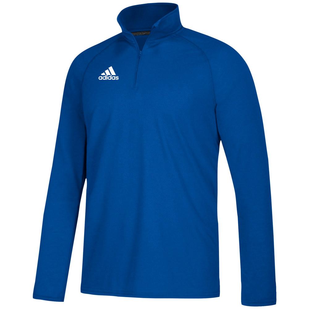 アディダス adidas メンズ フィットネス・トレーニング トップス【Team Ultimate 1/4 Zip】Collegiate Royal/White