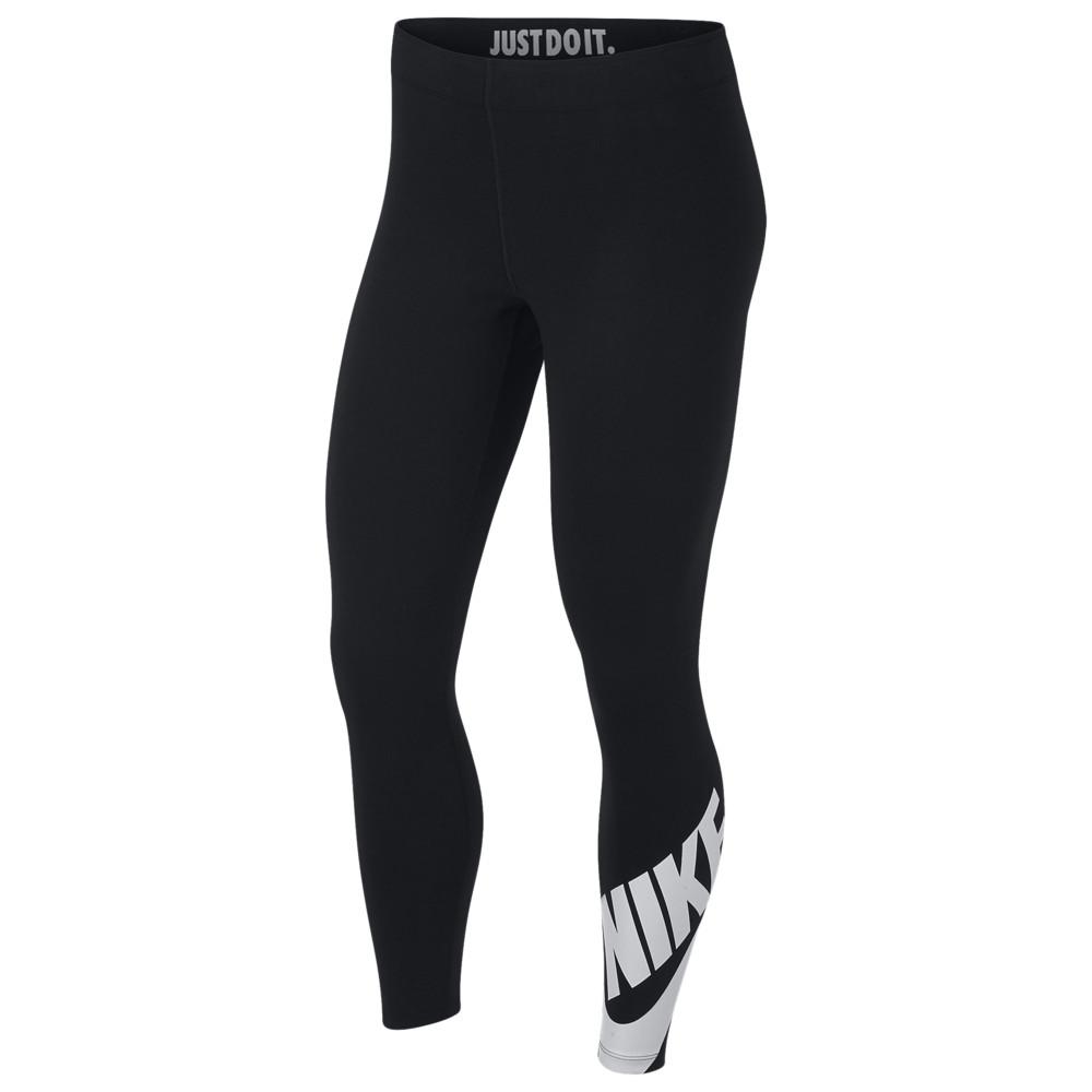 ナイキ Nike レディース インナー・下着 スパッツ・レギンス【Leg-A-See Futura 7/8 Leggings】Black/White