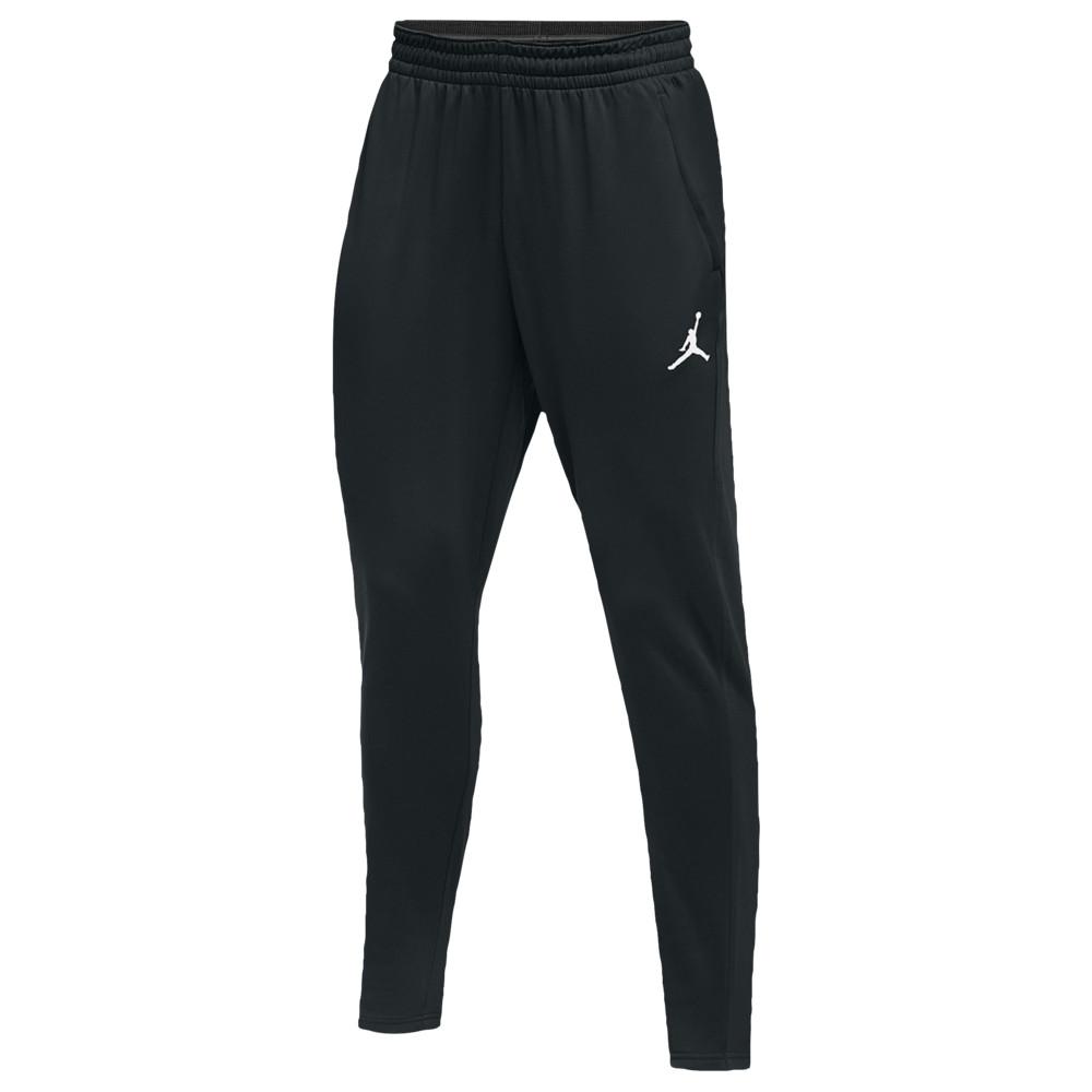 ナイキ ジョーダン Jordan メンズ バスケットボール ボトムス・パンツ【team 360 fleece pants】黒/白い