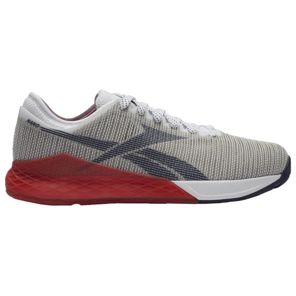 リーボック Reebok メンズ フィットネス・トレーニング シューズ・靴【Crossfit Nano 9.0】White/Primal Red/Collegiate Navy