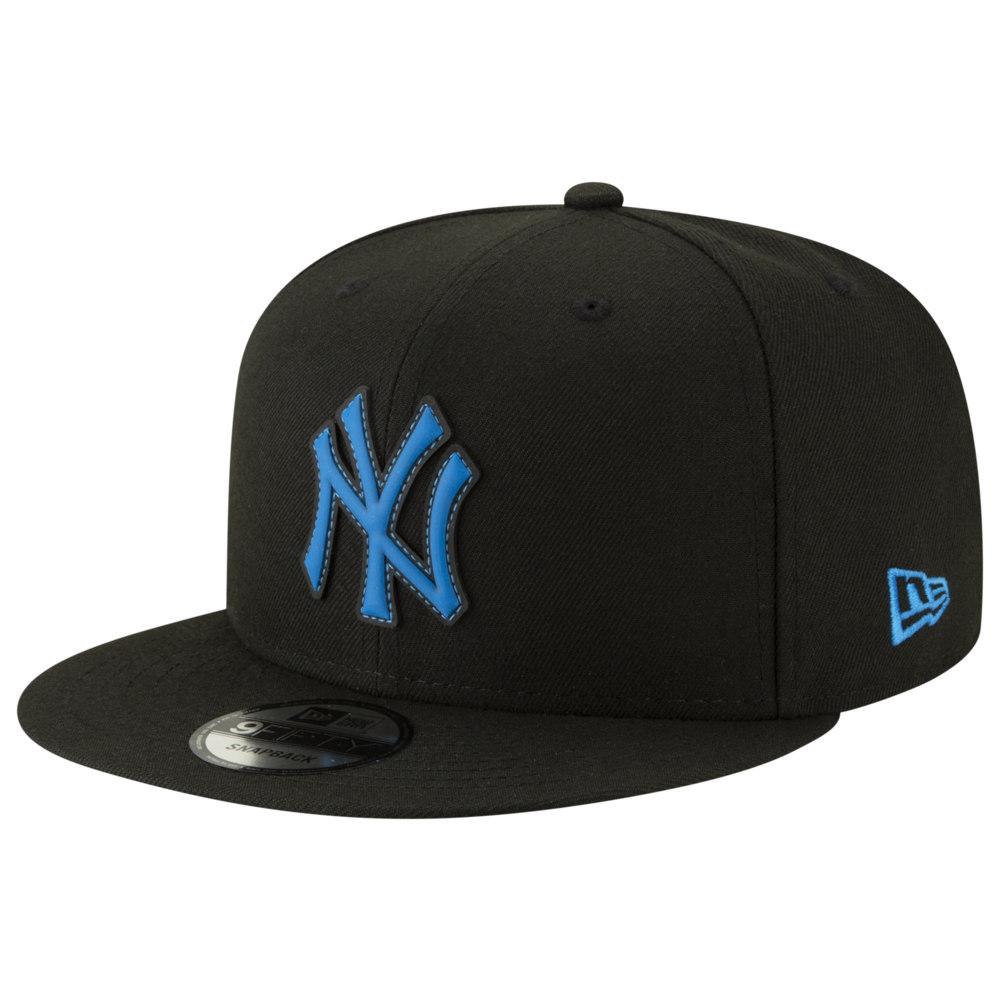 ニューエラ New Era メンズ 帽子 キャップ【MLB 9Fifty Neon Pop Snapback Cap】MLB New York Yankees Black/Clear