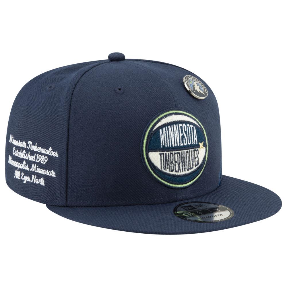 ラウンド  ニューエラ New Era メンズ 帽子 Era キャップ【NBA メンズ 9Fifty 帽子 On Stage Cap】NBA Minnesota Timberwolves Navy, マンガ トロ王:ee1b5686 --- cooperscreen.com