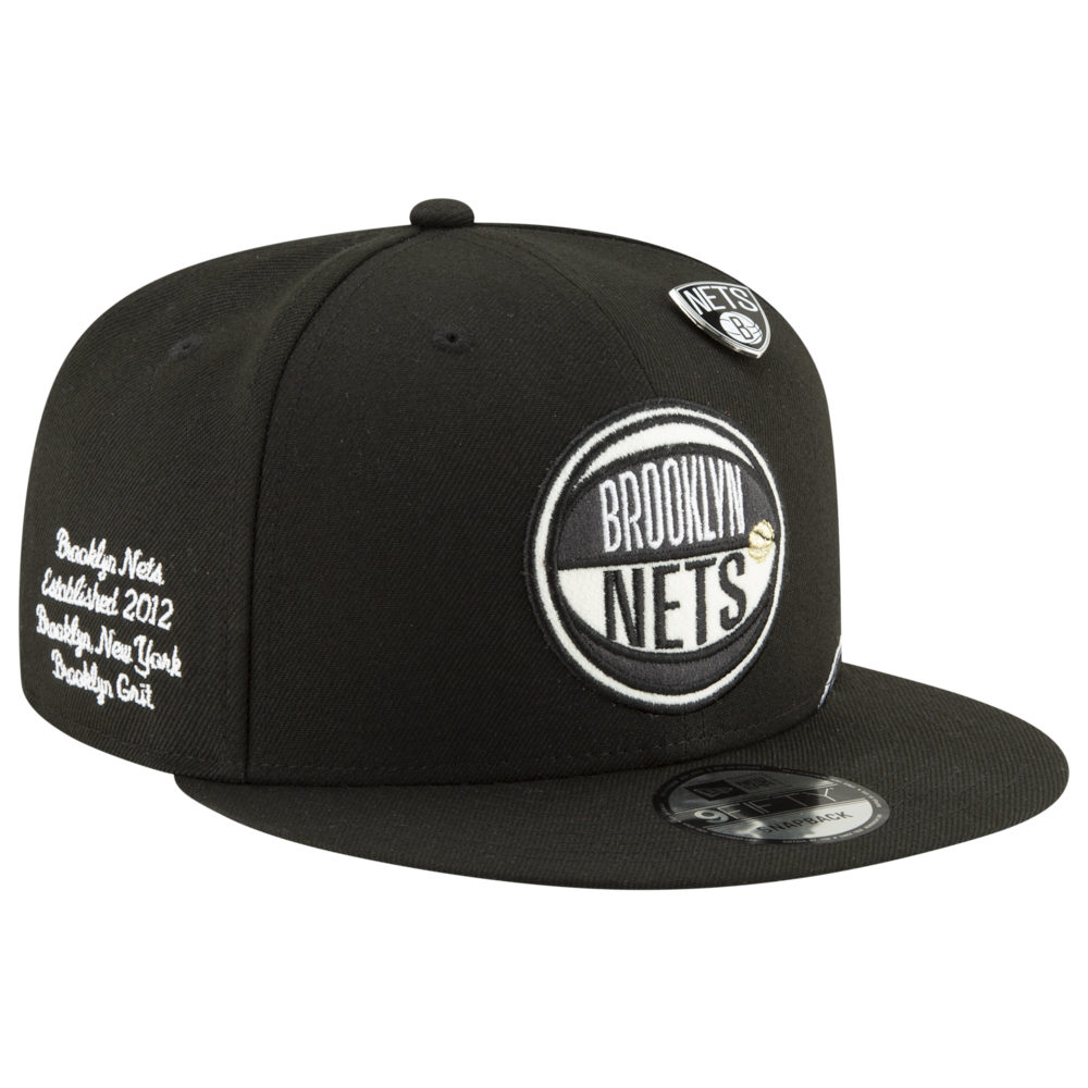 激安直営店 ニューエラ Black New Era メンズ 帽子 キャップ Nets【NBA 9Fifty 9Fifty On Stage Cap】NBA Brooklyn Nets Black, 和寒町:53d0c133 --- cooperscreen.com