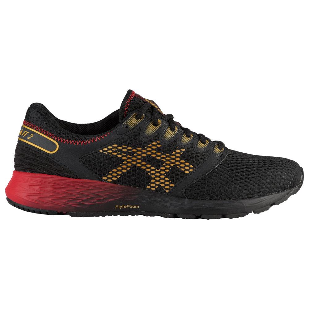 アシックス ASICS? メンズ ランニング・ウォーキング シューズ・靴【Roadhawk FF 2】Black/Rich Gold Mugen Pack