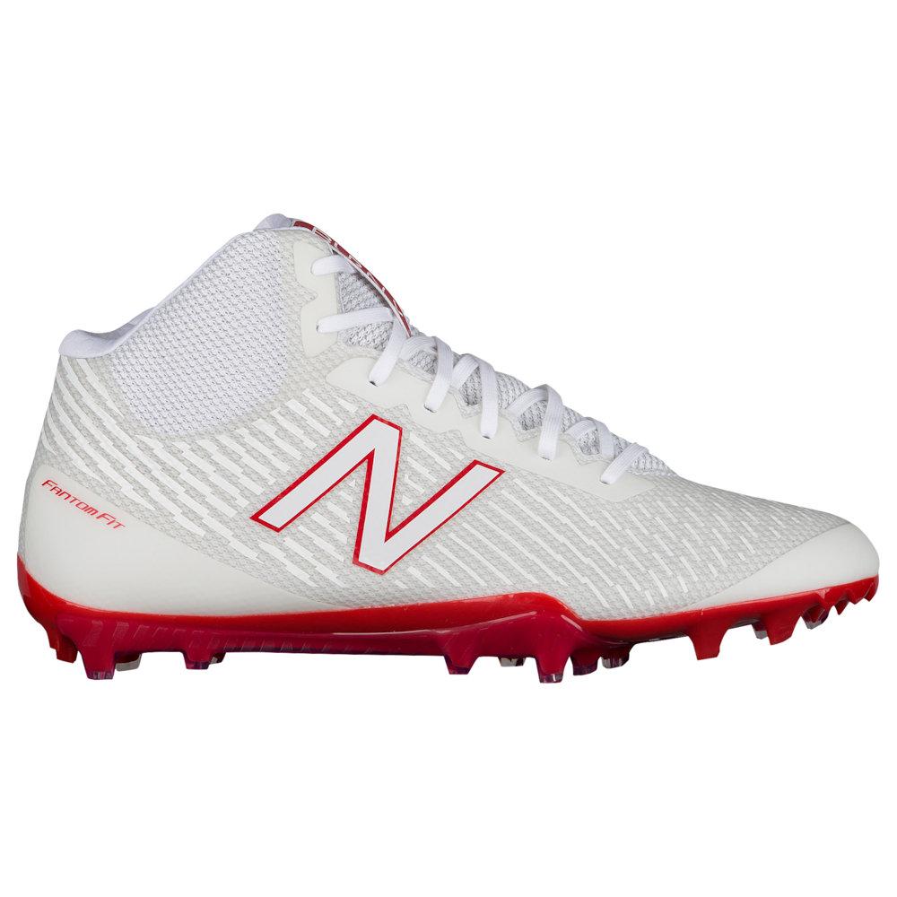 ニューバランス New Balance メンズ ラクロス シューズ・靴【Burn X MID】White/Red