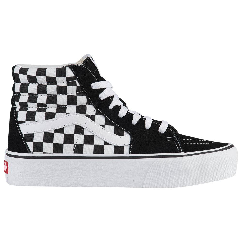 ヴァンズ Vans レディース スケートボード シューズ・靴【SK8-Hi Platform 2.0】Checkerboard/True White