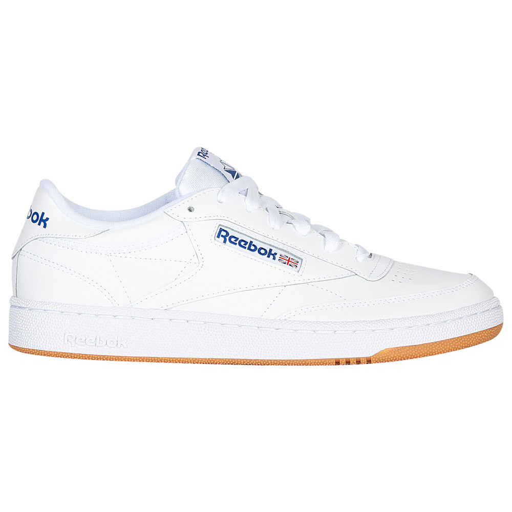 リーボック Reebok メンズ シューズ・靴 スニーカー【Club C 85】White/Royal/Gum