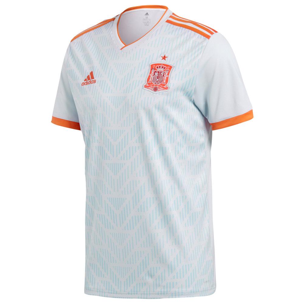 アディダス adidas メンズ サッカー トップス【Spain Climalite Replica Jersey】Soccer National Teams Spain Halo Blue/Bright Red
