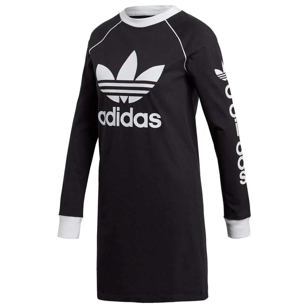 アディダス adidas Originals レディース ワンピース・ドレス ワンピース【Winter Ease Long-Sleeve Dress】Black/White
