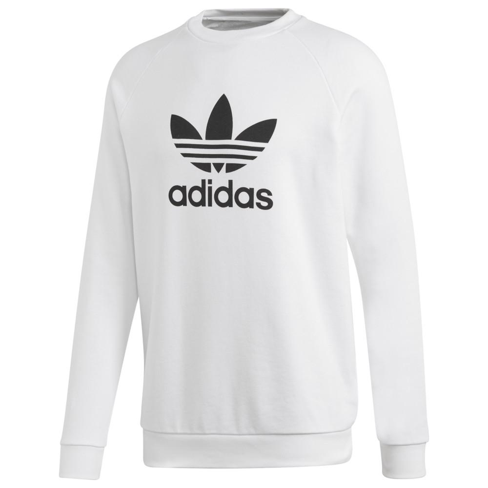 アディダス adidas Originals メンズ トップス【Trefoil Crew】White/Black
