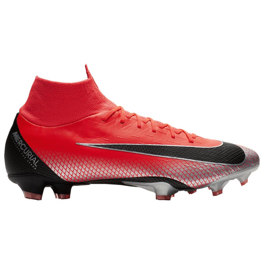 ナイキ Nike メンズ サッカー シューズ・靴【Mercurial Superfly 6 Pro FG】Bright Crimson/Black/Chrome CR7