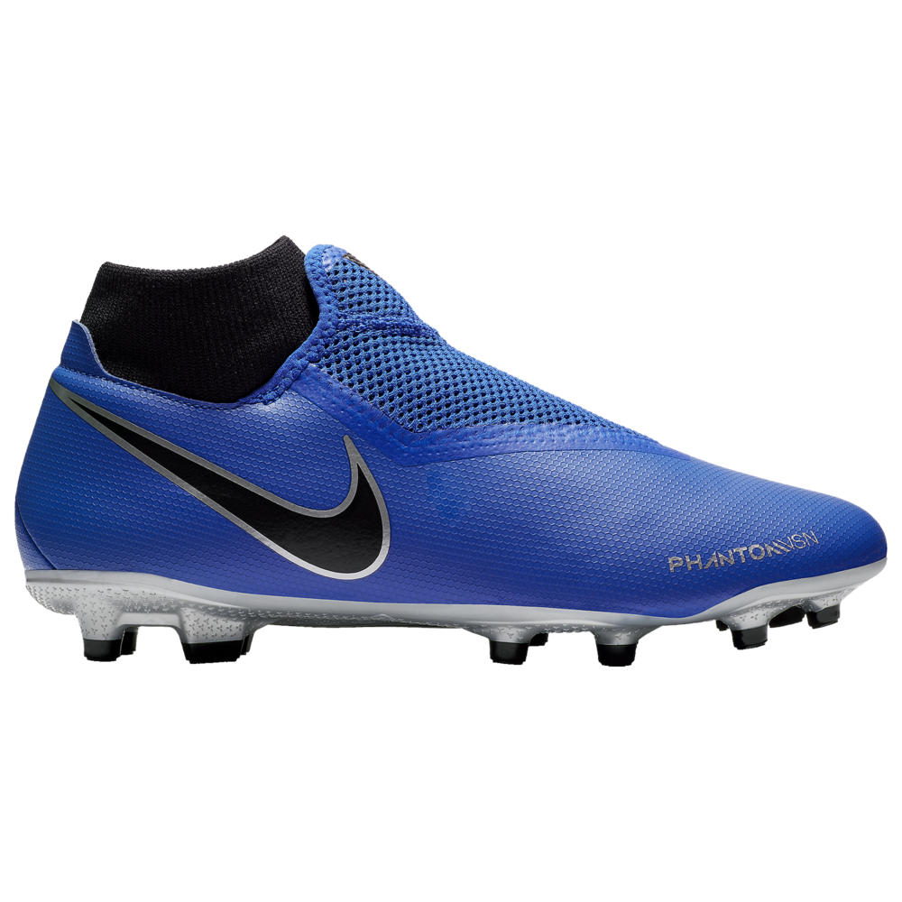 ナイキ Nike メンズ サッカー シューズ・靴【Phantom Vision Academy DF FG/MG】Racer Blue/Black/Metallic Silver/Volt New Wave Ch.1