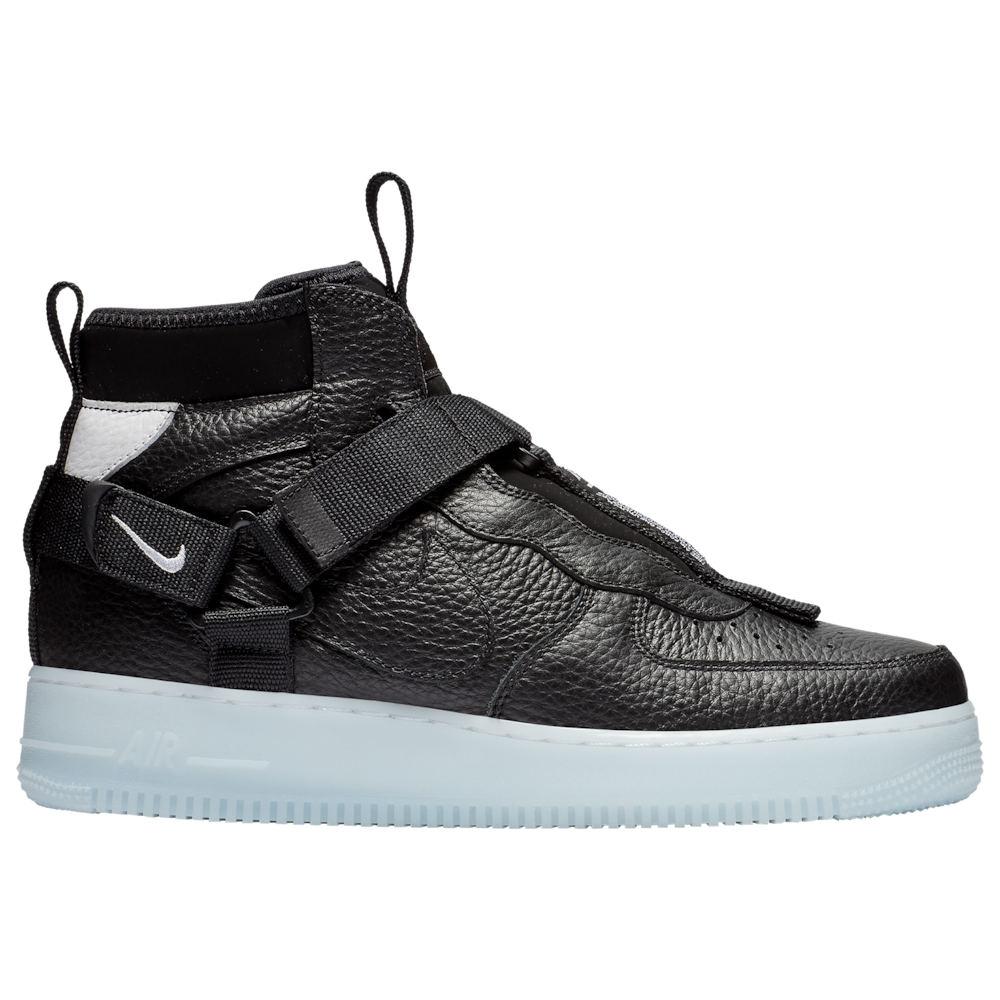 ナイキ Nike メンズ シューズ・靴 スニーカー【Air Force 1 Utility Mid】Black/Half Blue/White