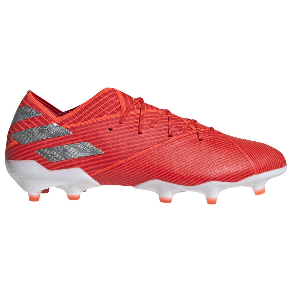 アディダス adidas メンズ サッカー シューズ・靴【Nemeziz 19.1 FG】Active Red/Silver Metal/Solar Red 302 Redirect