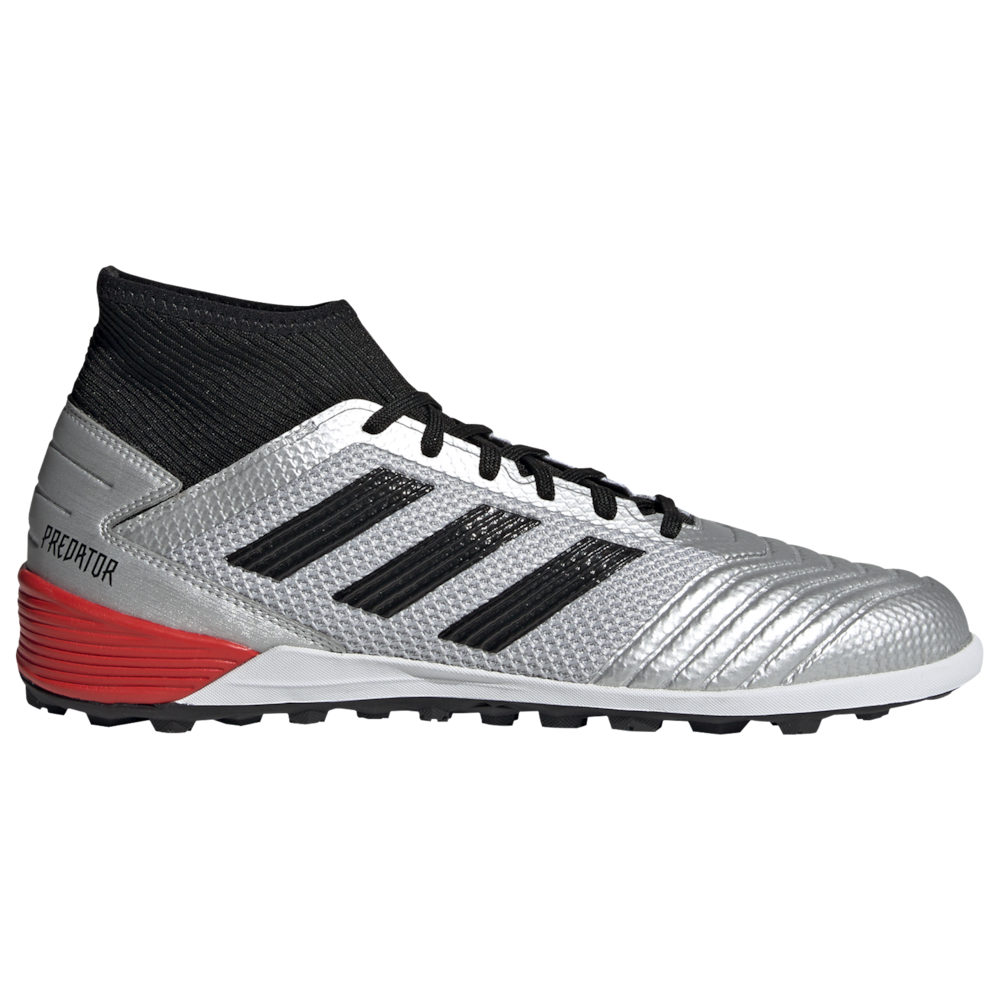 アディダス adidas メンズ サッカー シューズ・靴【Predator Tango 19.3 TR】Silver Metal/Core Black/Hi-Res Red 302 Redirect / Available to Ship Late June