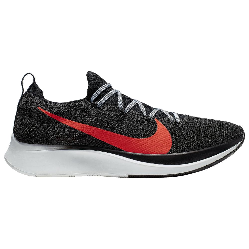 ナイキ Nike メンズ 陸上 シューズ・靴【Zoom Fly Flyknit】Black/Bright Crimson