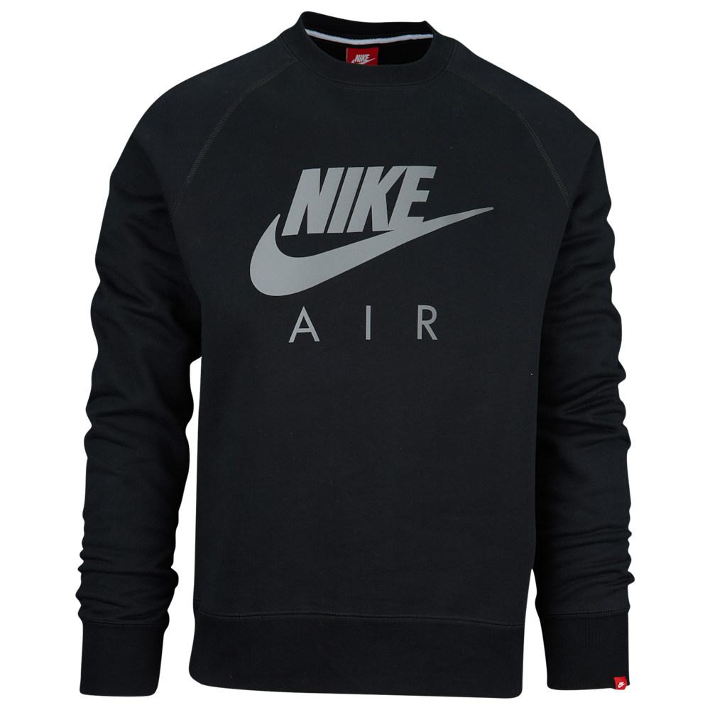 ナイキ Nike メンズ トップス【Graphic Crew】Black/Silver