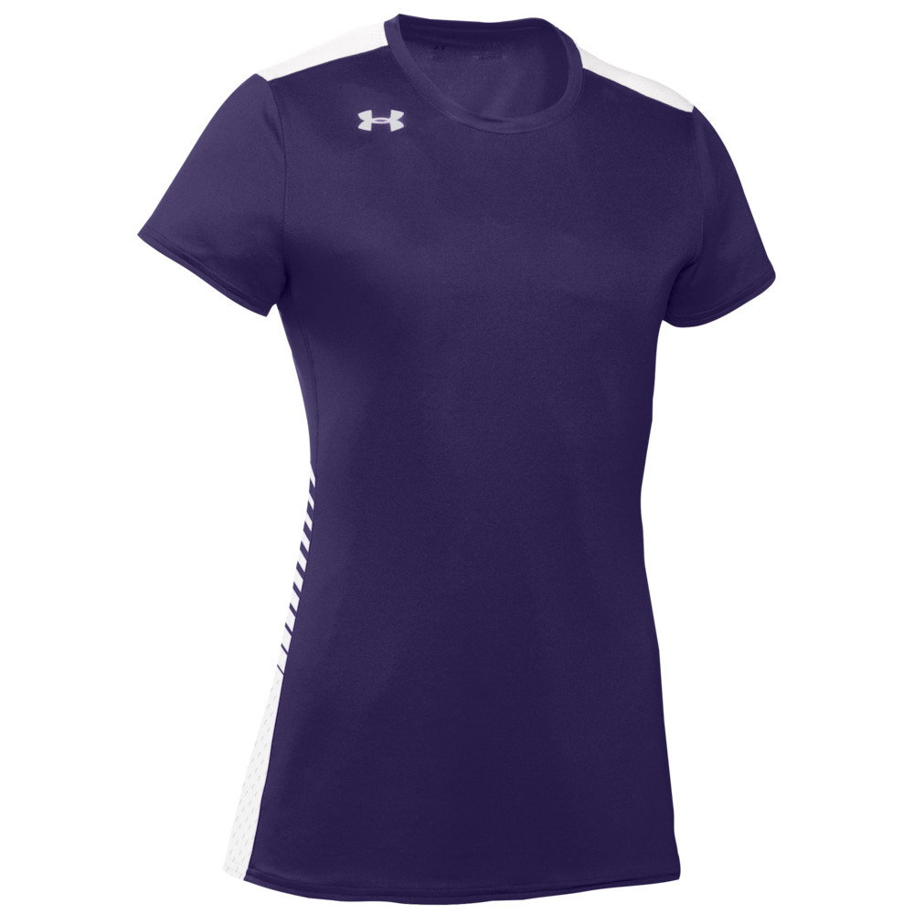 アンダーアーマー Under Armour Under レディース バレーボール トップス Endless【Team Endless Power S/S S/S Jersey】Purple/White, あなたブランド:63e17188 --- officewill.xsrv.jp