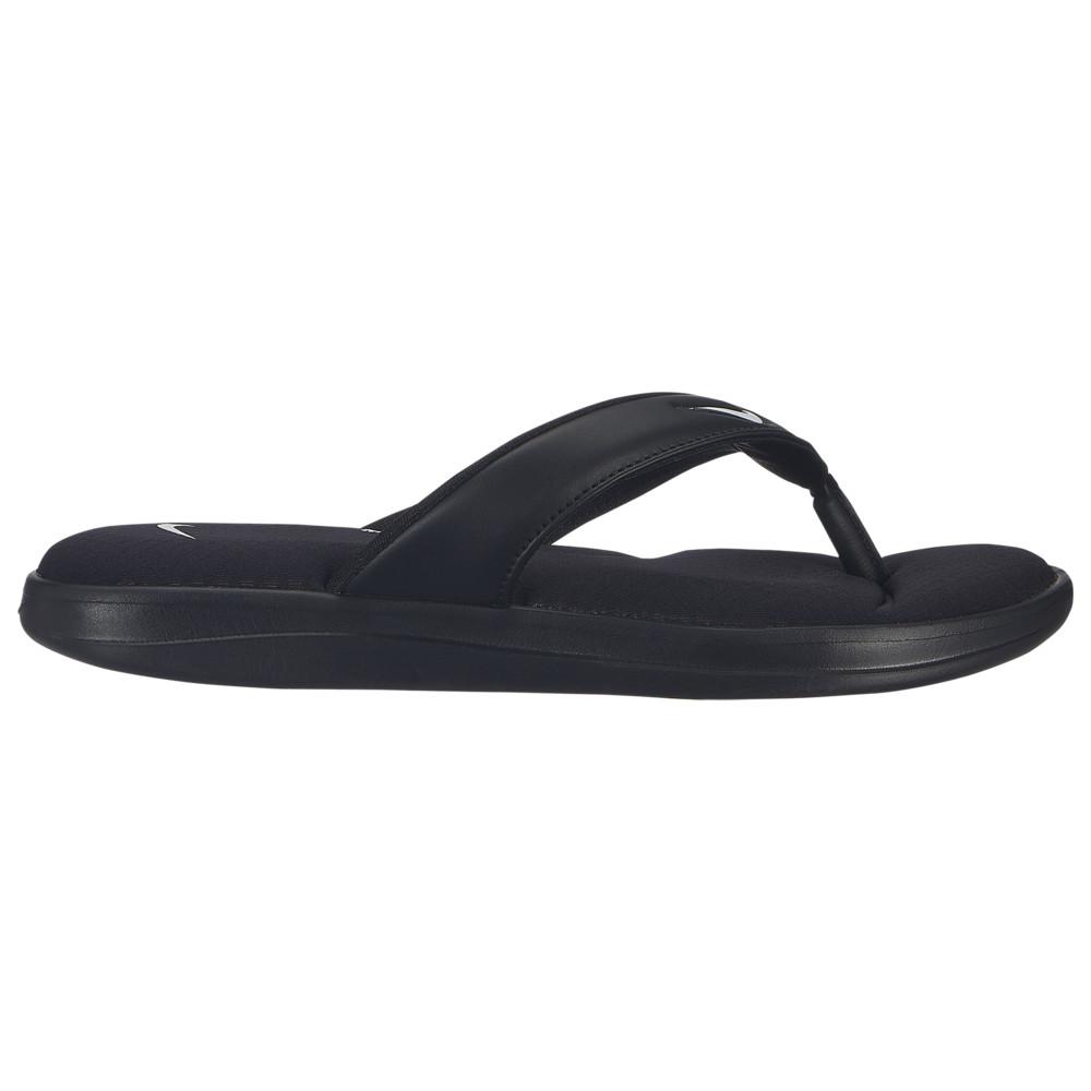ナイキ Nike レディース シューズ・靴 ビーチサンダル【Ultra Comfort 3 Thong】Black/White