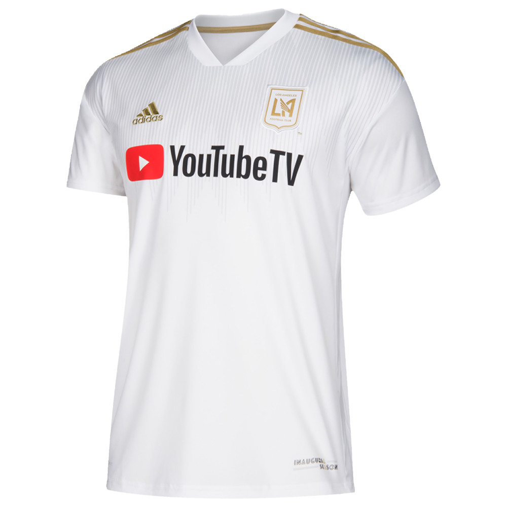 アディダス adidas メンズ トップス【MLS Replica Jersey】MLS LA FC White/Gold