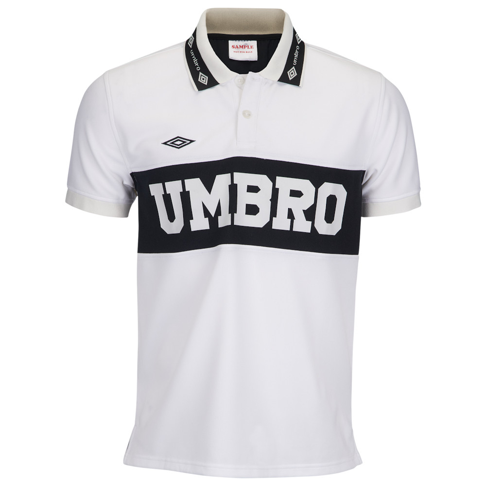 Umbro Short Sleeve Mens Polo Shirt Black Purple Size S XL XXL Fashion Sports