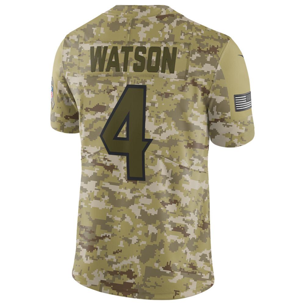 ナイキ Nike メンズ トップス【NFL Salute To Service Limited Jersey】NFL Houston Texans Jj Watt Camper Green
