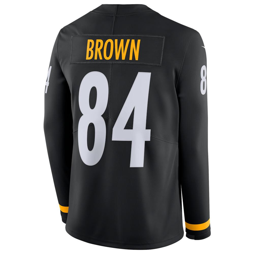 ナイキ Nike メンズ トップス【NFL Therma Jersey】NFL Pittsburgh Steelers Antonio Brown Black