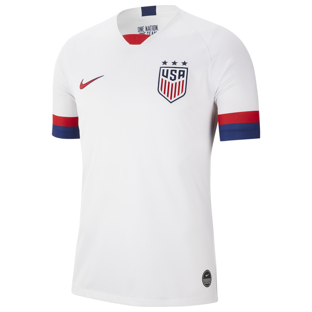 ナイキ Nike メンズ サッカー トップス【USA Breathe Stadium Jersey】Soccer National Teams USA White/Blue Void/Universtiy Red Home