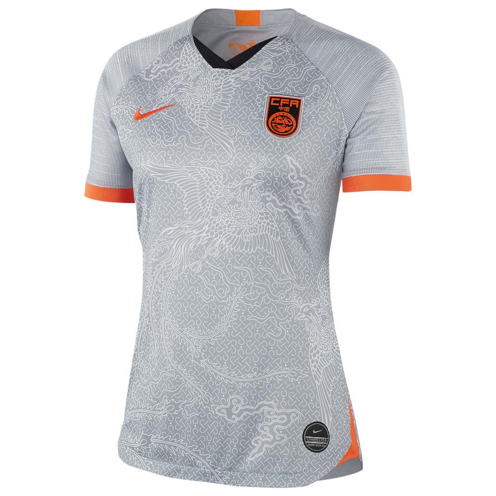 ナイキ Nike レディース サッカー トップス【China Breathe Stadium Jersey】Soccer National Teams China Wolf Grey/Hyper Crimson