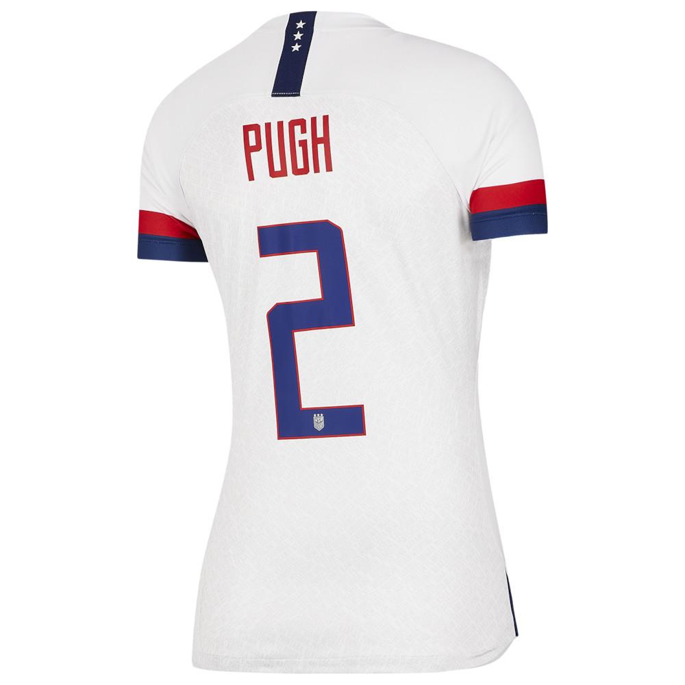 ナイキ Nike レディース サッカー トップス【USA Breathe Stadium Jersey】Soccer National Teams USA White/Blue Void/University Red Home / Mallory Pugh