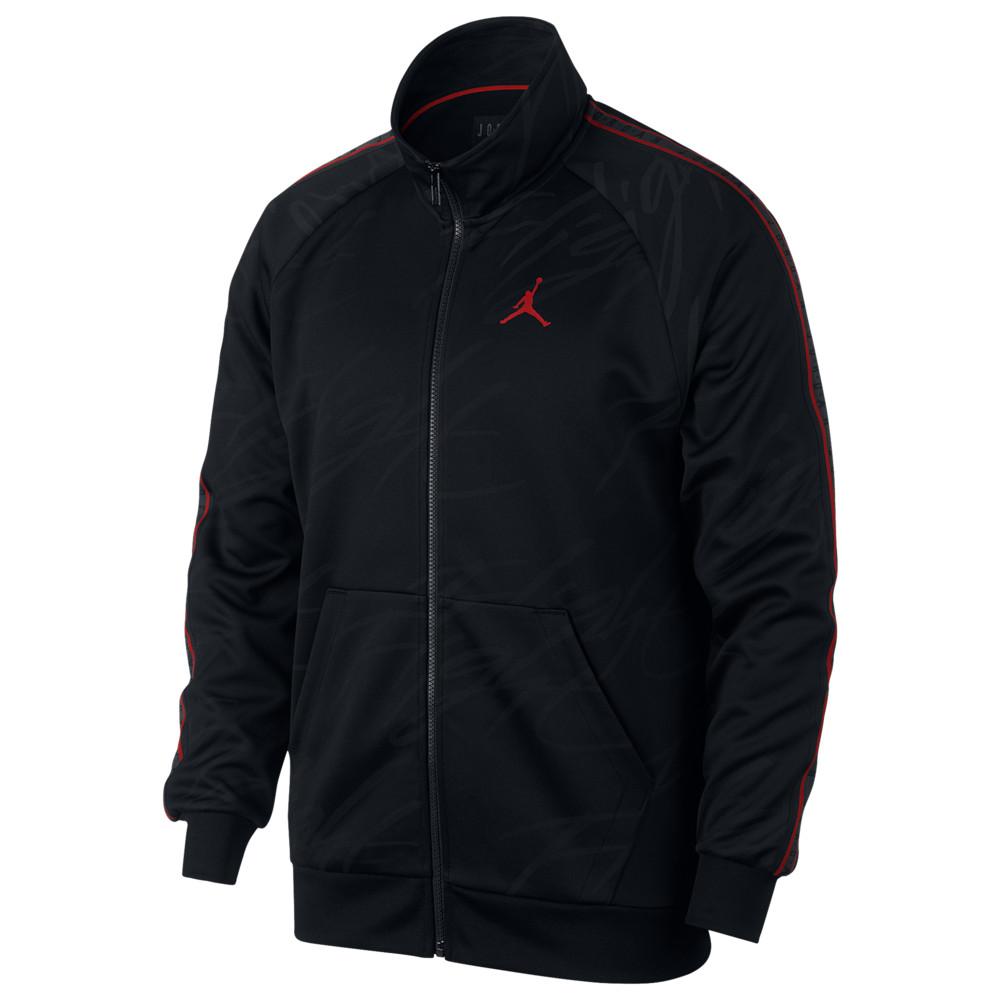 ナイキ ジョーダン Jordan メンズ バスケットボール アウター【Jumpman Tricot Jacket】Black/Gym Red