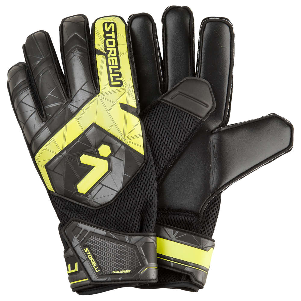 ストレリ Storelli Sports メンズ サッカー グローブ【Exoshield Challenger 2.0 GK Gloves】Black