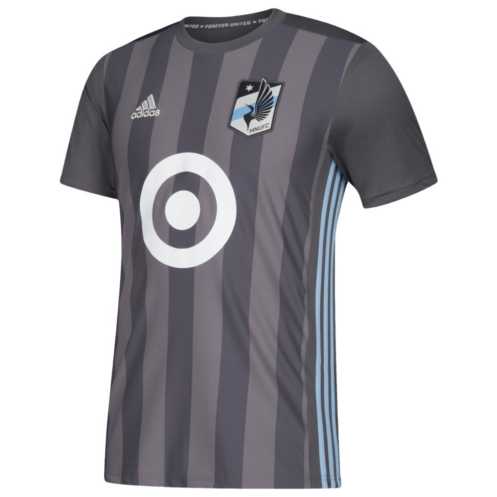 アディダス adidas メンズ サッカー トップス【MLS Replica Jersey】MLS Minnesota United FC Grey