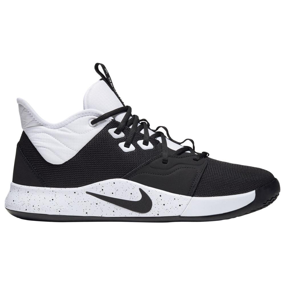 ナイキ Nike メンズ バスケットボール シューズ・靴【PG 3】Black/White