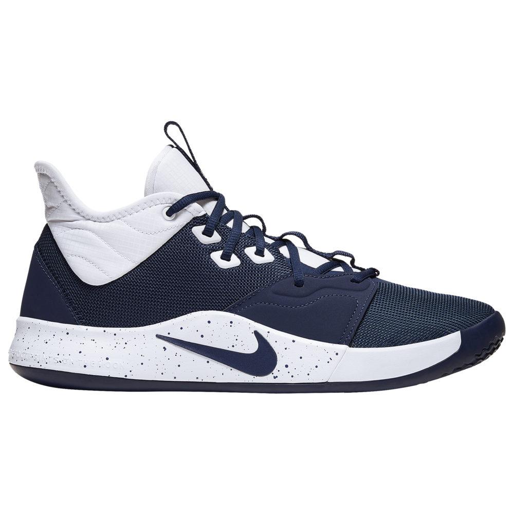 ナイキ Nike メンズ バスケットボール シューズ・靴【PG 3】Midnight Navy/White
