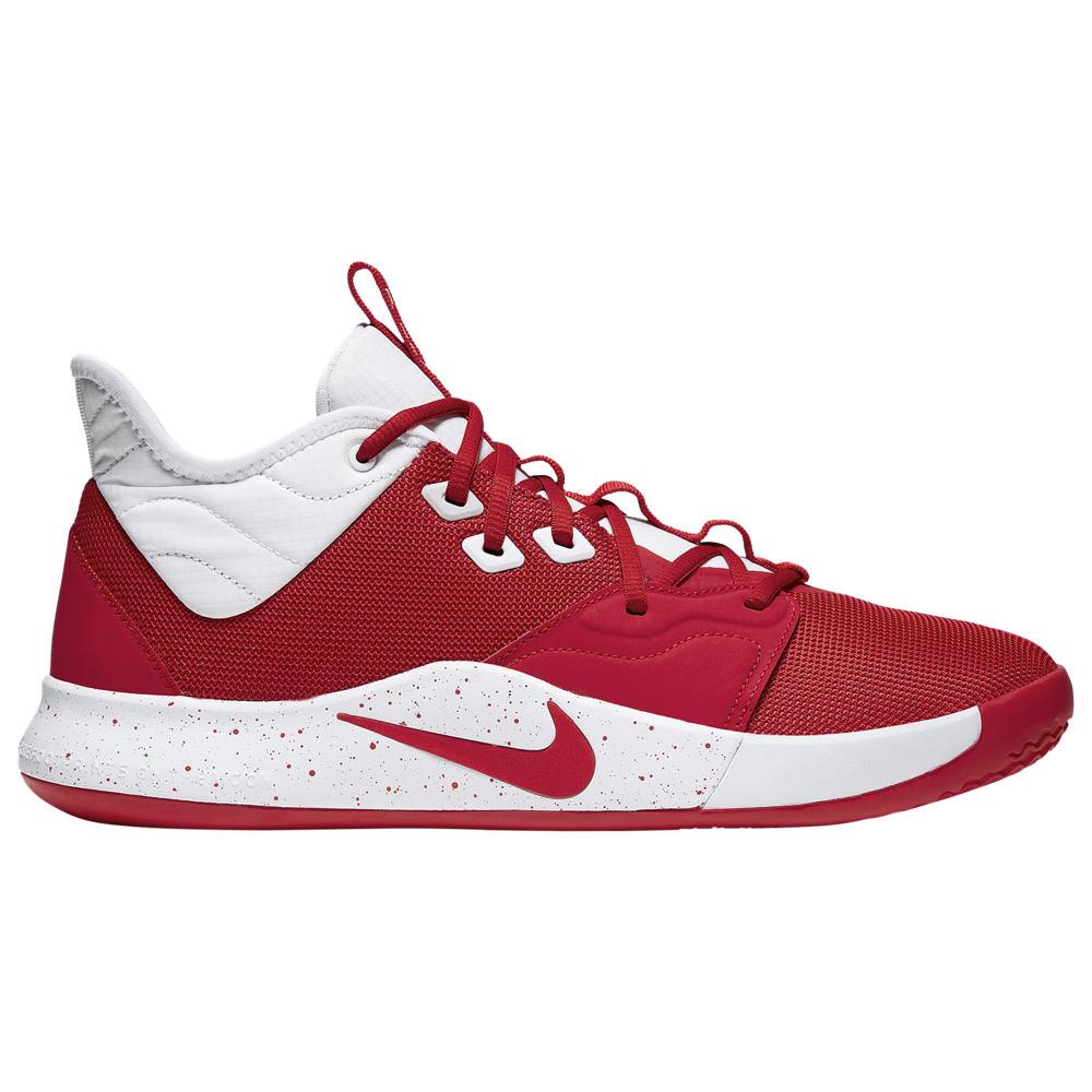 ナイキ Nike メンズ バスケットボール シューズ・靴【PG 3】University Red/White