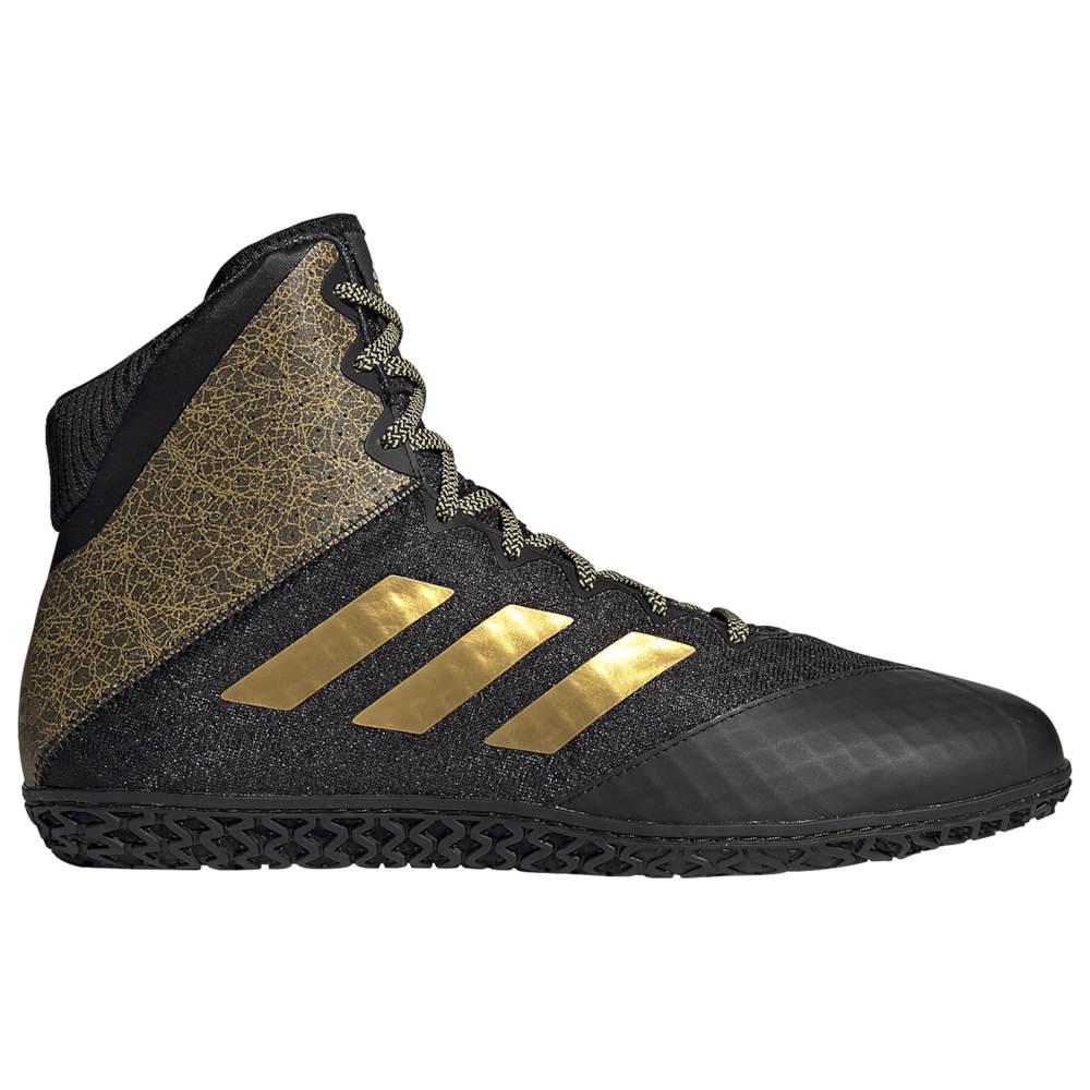 アディダス adidas メンズ レスリング シューズ・靴【Mat Wizard Hype】Black/Gold