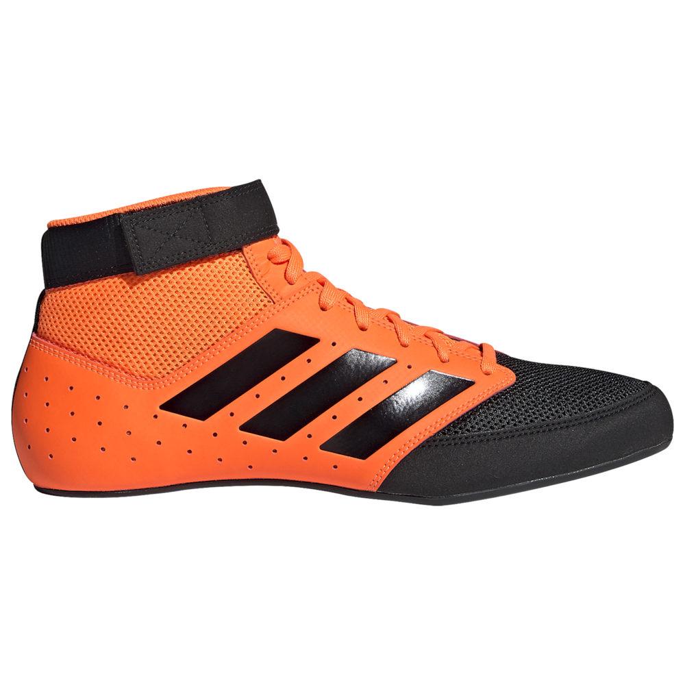 アディダス adidas メンズ レスリング シューズ・靴【Mat Hog 2.0】Orange/Black
