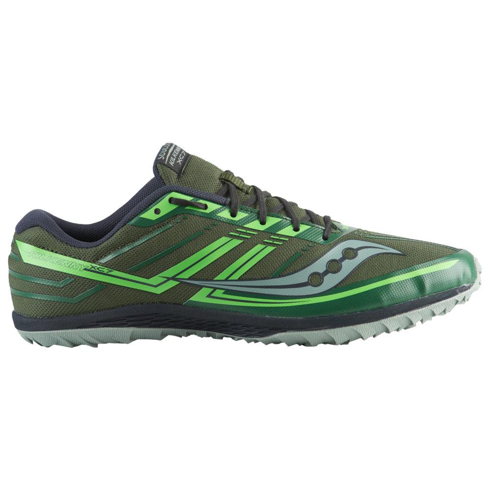 サッカニー Saucony メンズ 陸上 シューズ・靴【Kilkenny XC7 Flat】Green/Slime